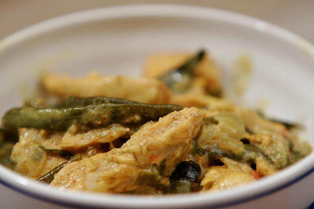 Chicken Curry Thai Style