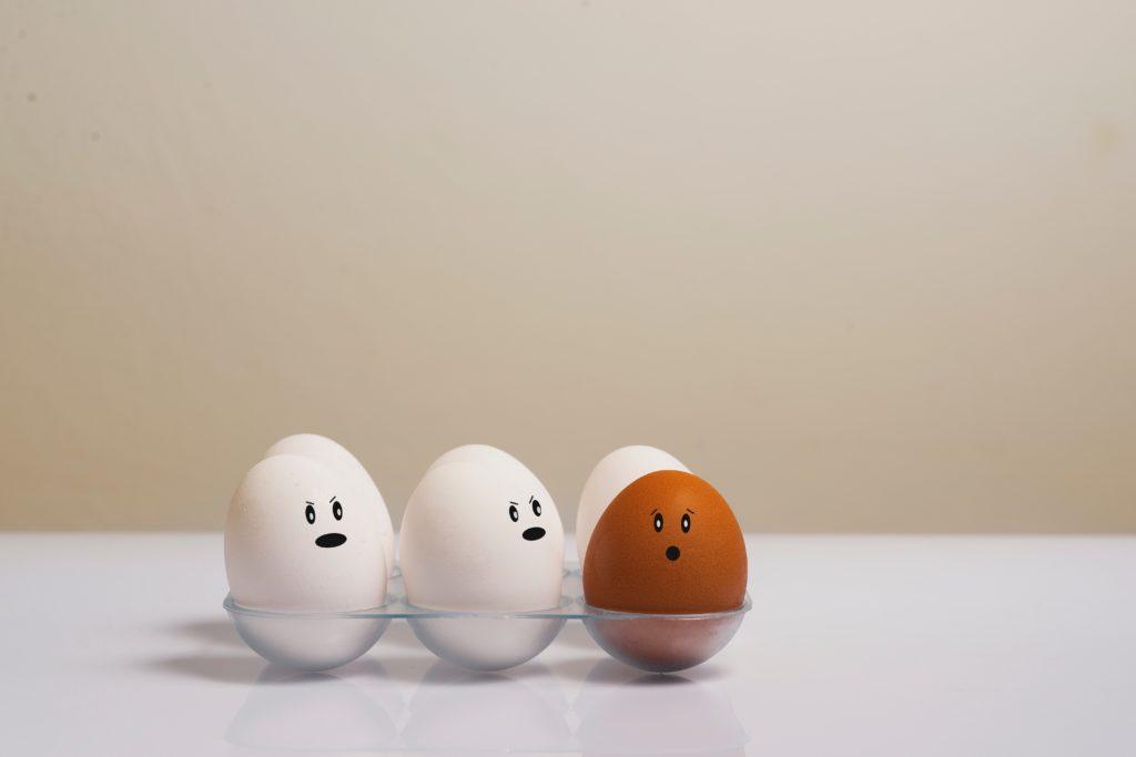 Eier halten sich länger frisch, wenn man sie mit Vaseline einreibt
