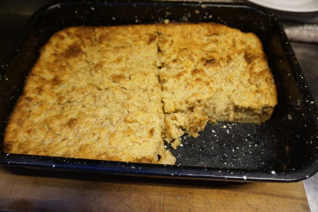 Der Ofenschlupfer nach Opa's Geheimrezept direkt frisch aus dem Ofen